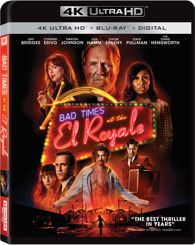 Bad Times at the El Royale [4K Ultra HD Blu-ray/Blu-ray]