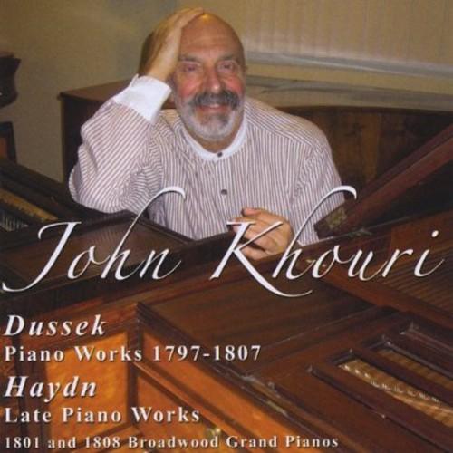 Plays Piano Works By Dussek & Haydn