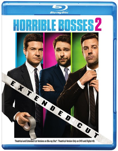 Horrible Bosses 2 [Extended Cut] [2 Discs] [Ultraviolet] [Blu-ray/DVD]