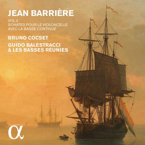Barriere: Sonatas for Cello & Basso continuo, Vol. 2