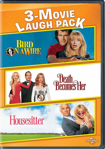 Goldie Hawn 3-Movie Laugh Pack: Bird on a Wire /  Death Becomes Her /  Housesitter