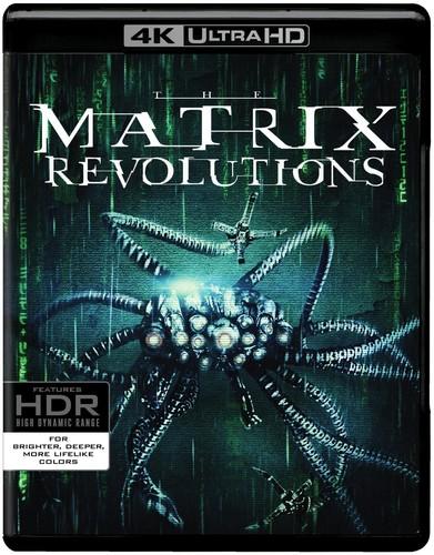 Matrix Revolutions [4K Ultra HD Blu-ray/Blu-ray]