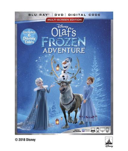Olaf's Frozen Adventure [Blu-ray/DVD]