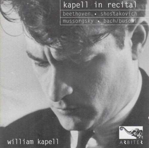 Kapell in Recital
