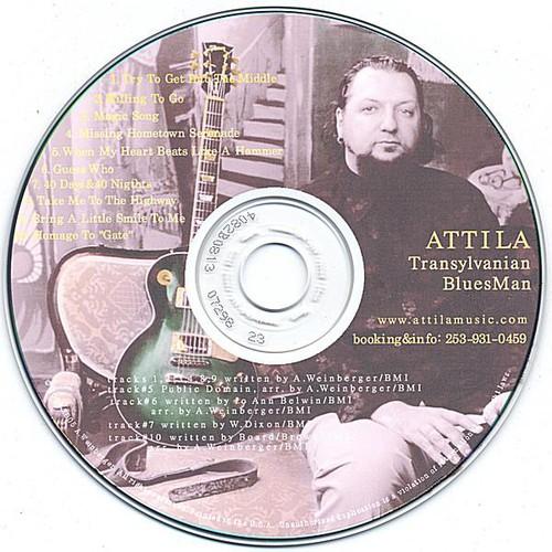 Transylvanian Blues Man