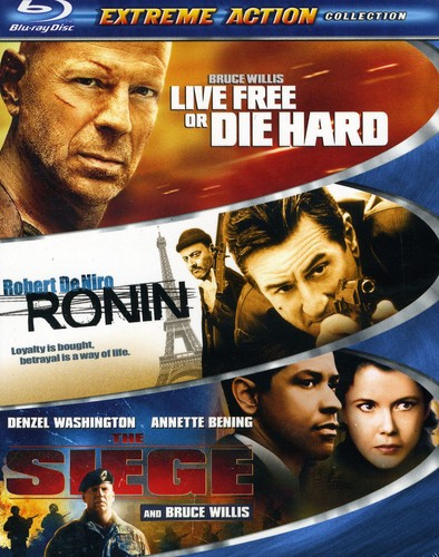 Extreme Action Blu-Ray 3 Pack