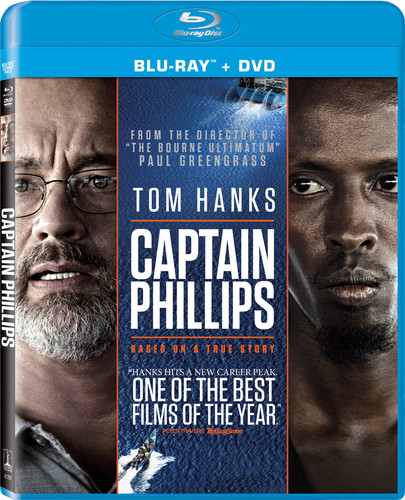 Captain Phillips [2 Discs] [UltraViolet] [Blu-ray/DVD]