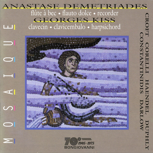 Sonata in Do Maggiore Op 1 N 7 Per Flauto E B.C.