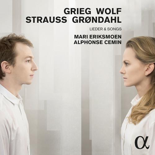 Grieg, Wolf, Strauss & Backer-Grondahl: Lieder & Songs