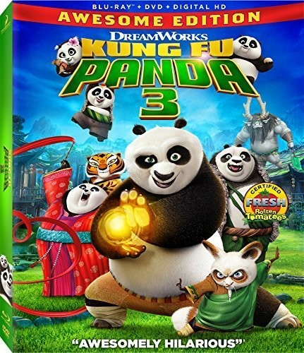 Kung Fu Panda 3 [Blu-ray/DVD]