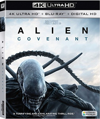 Alien: Covenant [4K Ultra HD Blu-ray/Blu-ray]