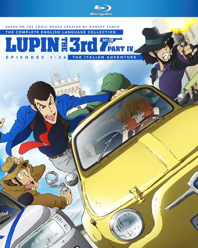 Lupin The 3rd Part Iv The Italian Adventure English Dubbed