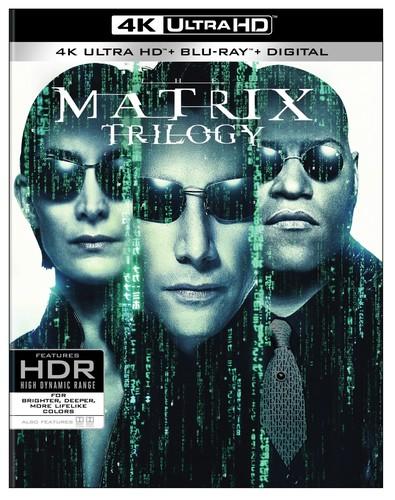 Matrix Trilogy [4K Ultra HD Blu-ray/Blu-ray]