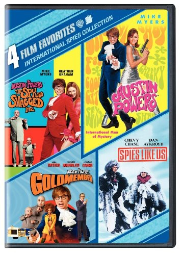 4 Film Favorites: International Spies Collection