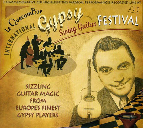 Quecumbar Int'l Gypsy Swing Guitar Festival