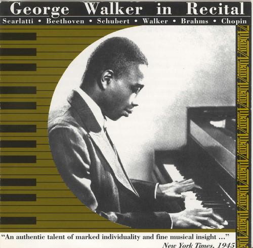 George Walker in Recital