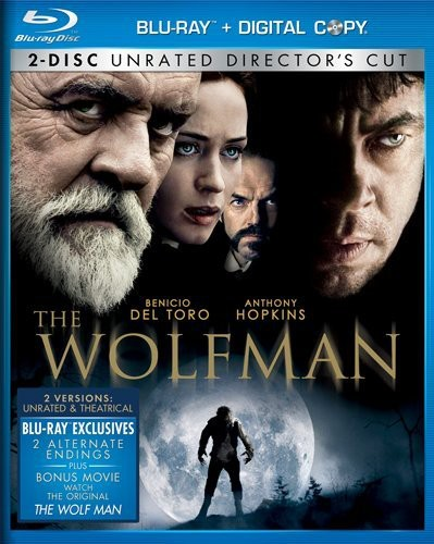 Wolfman [Rated/Unrated Versions] [2 Discs] [Blu-ray]