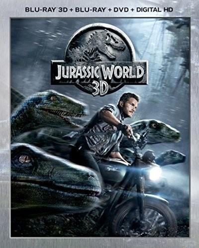 Jurassic World [3D] [Blu-ray/DVD]
