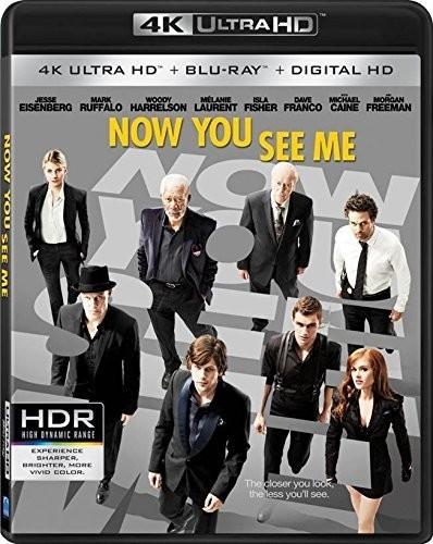 Now You See Me [4K Ultra HD Blu-ray/Blu-ray]
