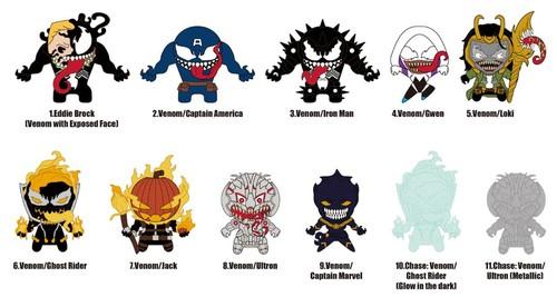 Marvel Venom - 3D Foam Key Ring Blind Bags
