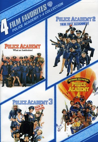 4 Film Favorites: Police Academy 1-4 Collection