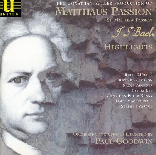 Bach St Matthew Passion-Highlights