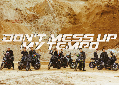 EXO The 5th Album 'DON'T MESS UP MY TEMPO' (Moderato Ver.)