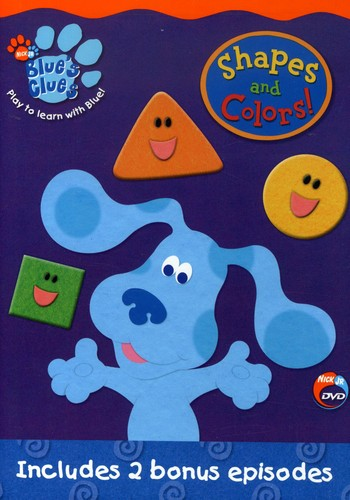 Blue's Clues: Shapes and Colors!