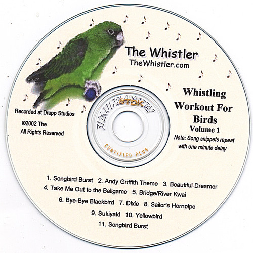 Whistler's Whistling Workout for Birds Vol 1