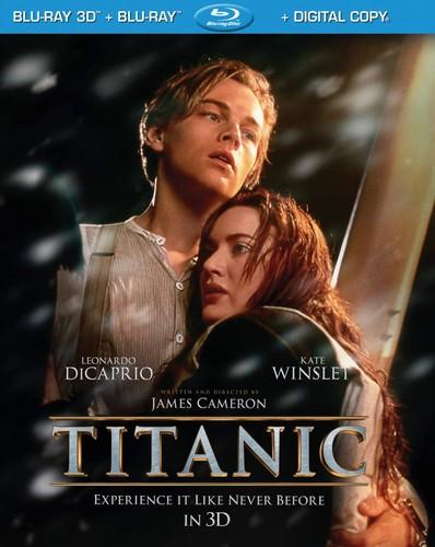 Titanic in 3D [4 Discs] [3D/2D] [Blu-ray]