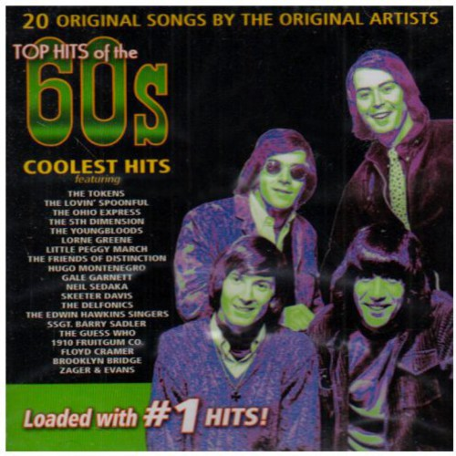 Top Hits Of The 60's: Coolest Hits