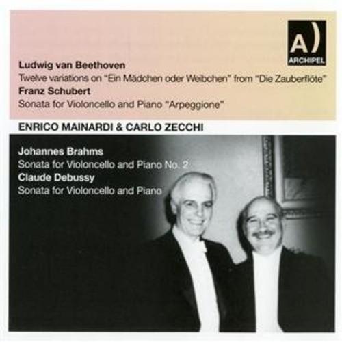Shubert, Beethoven, Brahms, Debussy