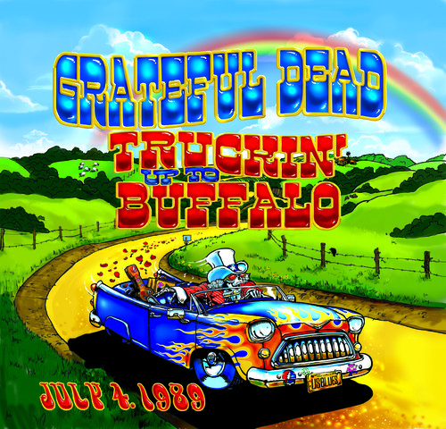 The Grateful Dead Truckin Up To Buffalo July 4 1989 On