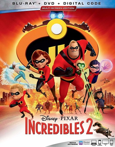 Incredibles 2 [Blu-ray/DVD]