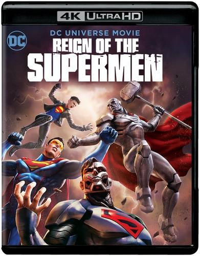 Reign of the Supermen [4K Ultra HD Blu-ray/Blu-ray]