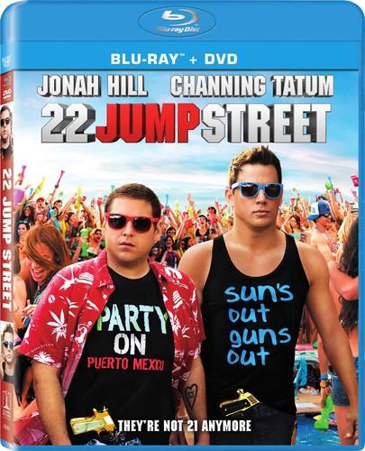 22 Jump Street [2 Discs] [UltraViolet] [Blu-ray/DVD]