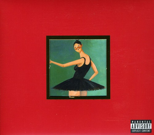 Kanye West-My Beautiful Dark Twisted Fantasy [Explicit Content][Deluxe Edition] [CD/DVD]