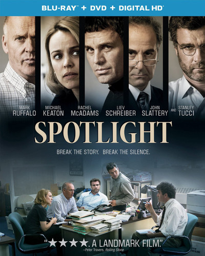 Spotlight [UltraViolet] [Blu-ray/DVD] [2 Discs]