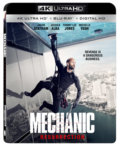 Mechanic: Resurrection [4K Ultra HD Blu-ray/Blu-ray]