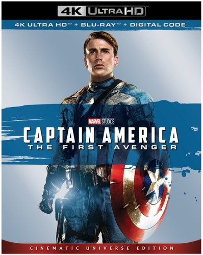 Captain America: The First Avenger [4K Ultra HD Blu-ray/Blu-ray]