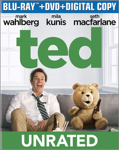 Ted [Unrated] [UltraViolet] [2 Discs] [Blu-ray]