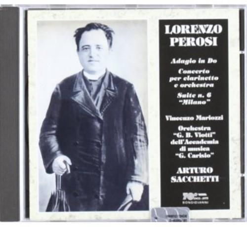 Cto for Clarinet & Orch /  Adagio in C /  Milano Ste