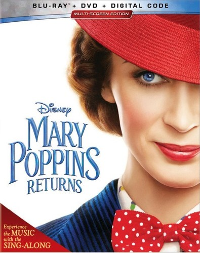 Mary Poppins Returns [Blu-ray/DVD]