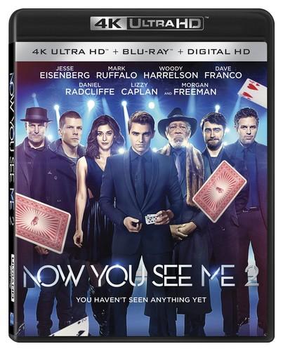 Now You See Me 2 [4K Ultra HD Blu-ray/Blu-ray]