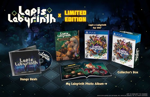 Lapis x Labyrinth - Limited Edition for PlayStation 4