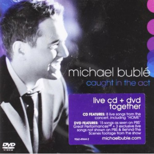 Michael Bublé-Caught In the Act (CD & DVD)