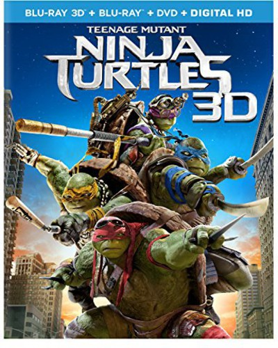 Teenage Mutant Ninja Turtles [3D] [Blu-ray/DVD]