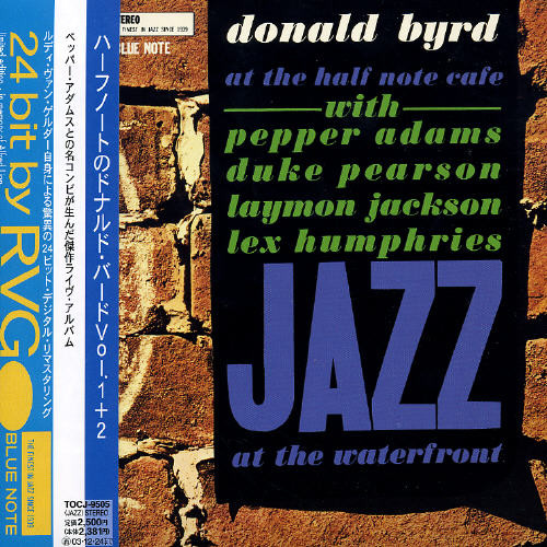Donald Byrd  – At The Half Note Cafe (Volume 1) [Import]