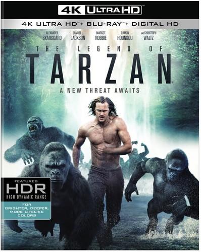 Legend of Tarzan [4K Ultra HD Blu-ray/Blu-ray]