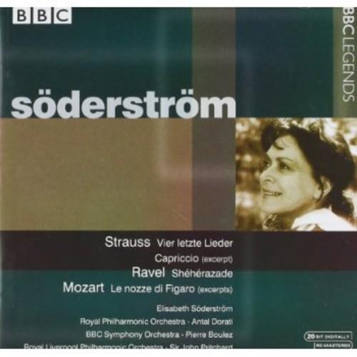 Soderstrom, Elisabeth : Works from Mozart Ravel & Strauss